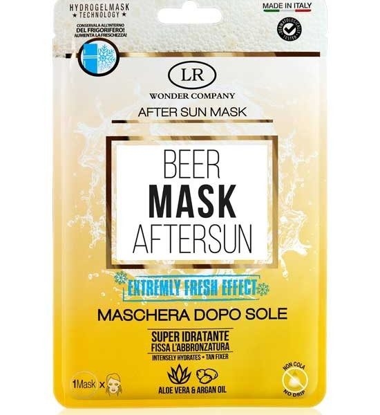 beer-mask-after-sun-maschera-doposole-lr-wonder